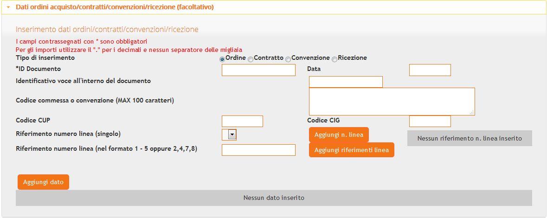 dati-ordini-contratti-convenzione-ricezione